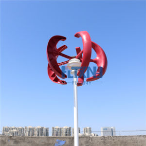 generatore di turbina verticale del vento di 100W 12V per il sistema ibrido solare del lampione del vento