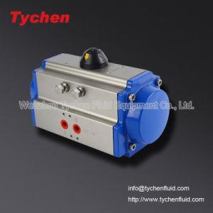 Ciudad de Wenzhou de aleación de aluminio tipo actuador neumático válvula rotativa