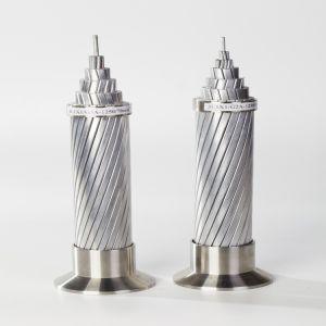Conduttore di ASTM ACSR/Aw, cavo elettrico di rinforzo acciaio placcato di alluminio di alluminio del cavo del conduttore