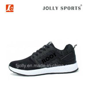 Nuevo estilo tejido transpirable en la ejecución de los zapatos deportivos para hombre