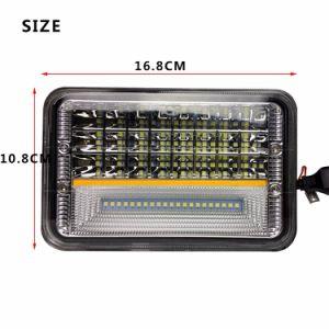 Pouce chariot de remplacement des projecteurs à LED 4X6 45W LED High Low joint Voyant du lecteur de faisceau