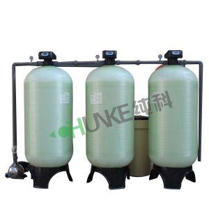 Sistema de filtro suavizador de agua para la planta de tratamiento de agua