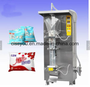 Materiale da otturazione liquido del sacchetto automatico pieno e macchina imballatrice di sigillamento
