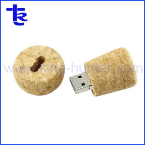 熱い販売の昇進のギフトのPhellos USBのコルクUSBのフラッシュ駆動機構