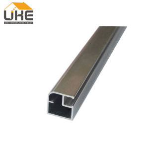 20mmの幅の顧客用ガラスドアアルミニウムフレームのキャビネットアルミニウムフレームのドア