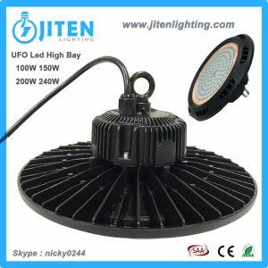 Die-Cast Aluminio 150W LED de luz de la Bahía de industriales de alta