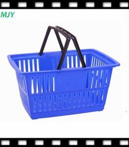 20 het Winkelen van de Hand van de Supermarkt van de Plastic liter Mand