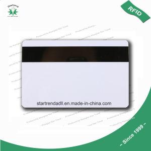 Scheda di plastica in bianco della banda magnetica del PVC 2750OE adatta a sovrimpressione