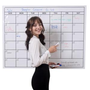 De maandelijkse Kalenders van de Ontwerper van de Muur van de Douane van de Kalender