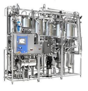 Mit vielfacher Wirkung Wasser destillierte Maschine