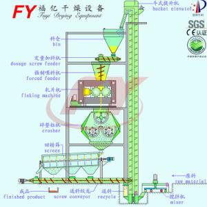 アンモニウムの硫酸塩の不規則な形の微粒のローラーの出版物のペレタイジングを施す機械