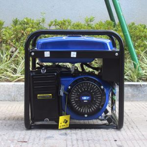 Bison (China) Taizhou Ce aprobada enfriado por aire 6kw 6 kVA Super Silencioso generador de gasolina Honda generador de Fase 3