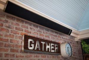 屋外のレストランの使用の赤外線ヒーター2400W