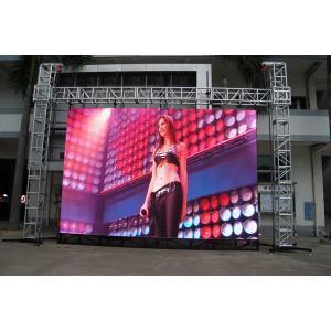 P4 de la publicité sur le marché en plein air plein écran LED de couleur