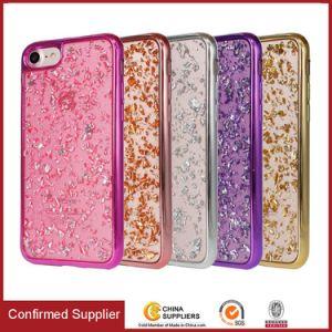 Tampa do telefone Ultra-Stylish cintilante congelada Caso Telefone Electroplated bordas de pára-choques