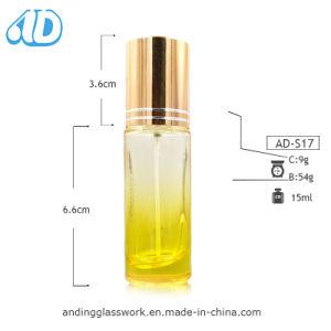 Ad-S17 de vidrio el tornillo de Plaza de la botella de spray 15ml