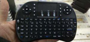 2.4G wireless Mini-teclado espanhol Tipo de Layout
