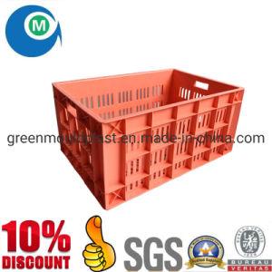 Fabricante de moldes de cajas plegables de plástico