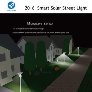 4000 lúmenes de fábrica de 40W LED de luz solar directa de la calle con el movimiento