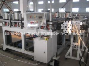 Le plastique PVC Celuka WPC Croûte de bois/mousse de conseil de la machine d'Extrusion