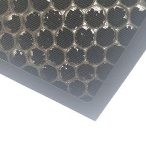 Estrutura Cardbaord OEM favo de filtro de ar de carbono para o mau cheiro