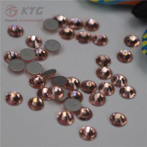 De duidelijke Bergkristallen van Flatback van de Bergkristallen van de Decoratie van de Kunst van de Spijker van het Kristal 3D schitteren Gemmen