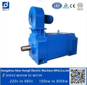 660V 750rpm eléctrico IC06 de 500kw motor DC de la clase F