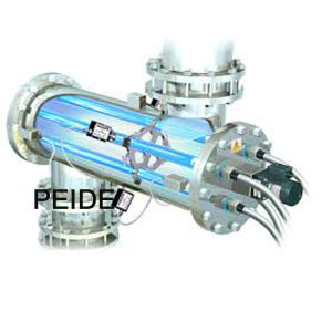 155W Pneumatic Clean 2PC UV Lamp Food Sterilization Equipment
