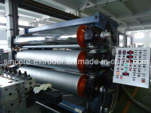 PP/PE/ PS/PC/PMMA/Pet/PETG/TPU/ABS/EVA/EVOH Feuille de plastique Ligne de production de la plaque de ligne de la Fabrication de matériel de l'extrudeuse (couche unique ou Multi-layer feuille)