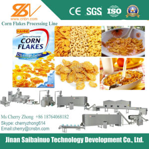Haute capacité de flocons de maïs/céréales pour petit déjeuner Ligne de traitement