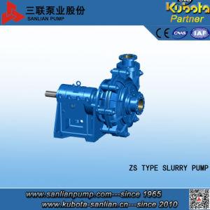 중국 최고 질 펌프 Sanlian Zs 유형 슬러리 펌프