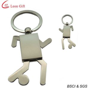 도매 공백 주문 로고 인간적인 모양 Keychain