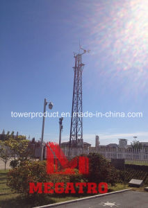 Se reunió con torres y el clima de acero de medición de la torre (MGT-MC007)