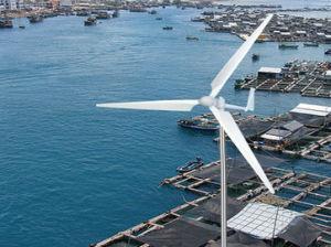 2kw de Turbine van de wind met DC240 V schatte Voltage (FD3.2-2.0)