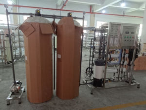Ce/ISO aprovado 1500L/H RO equipamento de purificação de água/planta de tratamento de água desmineralizada