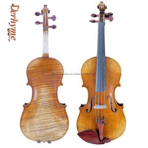 Handmade One-Piece profesional 4/4 de vuelta violín antiguo