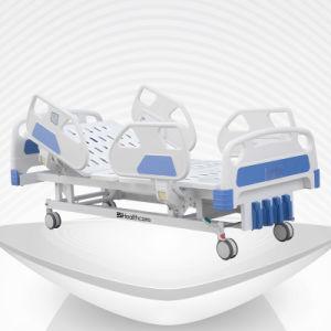 5-Función de Enfermería de sala muebles de sala de hospital médico cama manual
