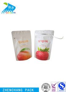 Сушеные фрукты продовольственной матовой печати пластиковой упаковки Bag Double Zip чехол для блокировки