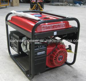 Portátil Generador de gasolina de 6 kVA, Petro generador con precio al por mayor
