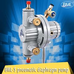Bml-5 de façon unique de l'encre pour impression de la pompe pneumatique