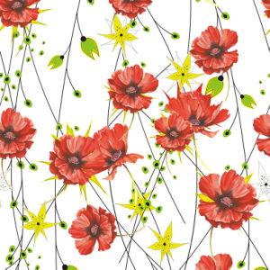 Digital gedrucktes 16mm Elastizität-Satin-Silk Gewebe für Dame Garment