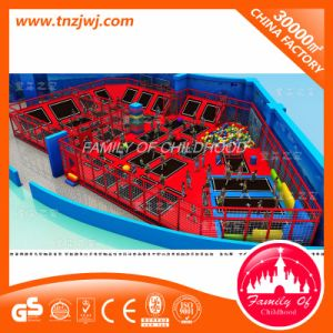 Sosta dell'interno commerciale del trampolino della strumentazione di divertimento per il trampolino