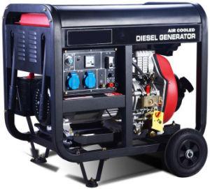 5 квт с водяным охлаждением воздуха портативный дизельный генератор