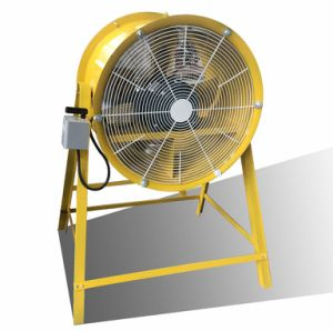 Ventilação portátil série Sf Industrial Baixo ruído de ventoinha do Duto Axial