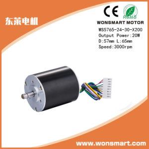Sin escobillas altas rpm del motor eléctrico de 24V DC