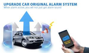 GPS Tracker certificada con aviso de la puerta abierta