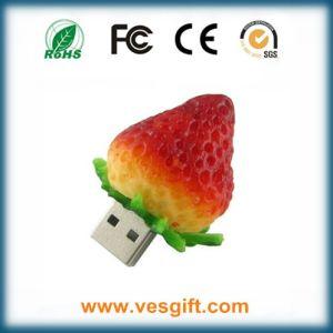 Straberry Cute формы из ПВХ USB флэш-памяти