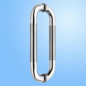 Puxador da porta de vidro em aço inoxidável (FS-1845)