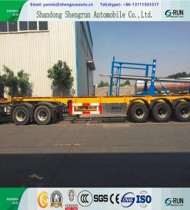 Behälter-LKW-Schlussteil China-heißer 20FT 40FT skelettartiger für Verkauf