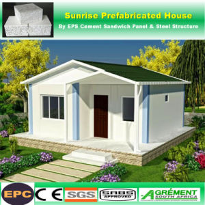 Prefabbricato/ha prefabbricato la costruzione/villa/Camera modulari del cemento della struttura d'acciaio ENV